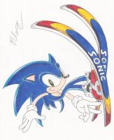 Sonic Skiing by SonicBornAgain