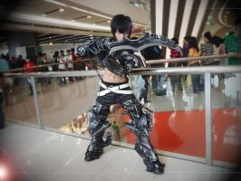 Insane Black rock shooter male ver~ by kamikurosuHibari