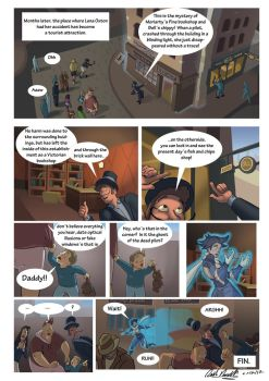 The Secret of Moriartys Bookshop page 8 by pixelsama