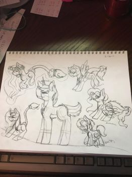 Collab Sketch part 1 by Steampunksrock