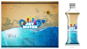 Art Water Label 1 by NGDlabs