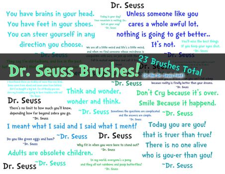 Dr. Seuss Brushes by NBB-Photography