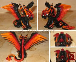 fire dragon details by Luna-cuteXD