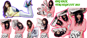 Yuri_High Cut (*PNG Pack) by kyukyuYURI