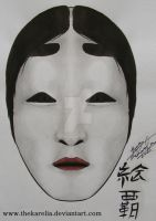 Noh Mask by TheKarelia