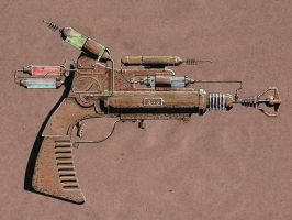 Steampunk Chemical Raygun by rsandberg