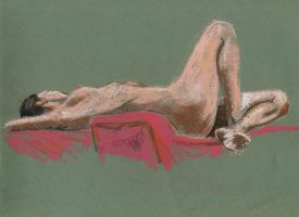Life drawing 01 by disegno07