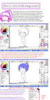 3rd Tutorial: How to color in SAI using mouse? by NanakoBlaze
