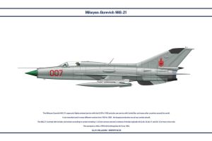 MiG-21 Mongolia 1 by WS-Clave