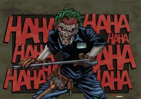 Joker by Saul Shavanas colored by Dany-Morales