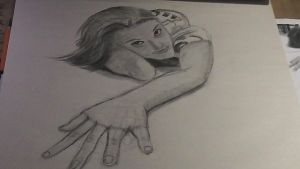 foreshortening drawing by geowarriors20