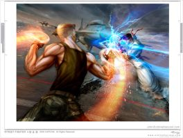 street fighter tribute by johngiang