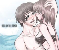 sex on the beach by rayitolovesanime