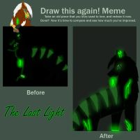 meme: Before and After by DracoWolf0-0