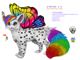 Coral Refrence commission by Yechii
