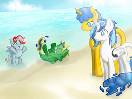 Liquifoals by Celestialess