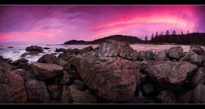 Behind The Rocks by CainPascoe