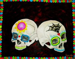Sugar Skulls by LaurenWiles