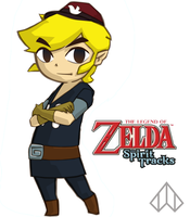 Spirit Tracks Link by Nelde