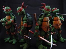 TMNT inspired by nebezial by SalemCrow