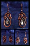 Wire Wraped Jewelry by Falconsong