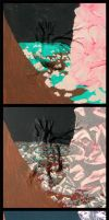 How I paint with acrylic by Schatten-Drache