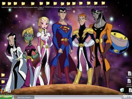 Legion of Superheroes desktop by Sailor-Moon-Ranger
