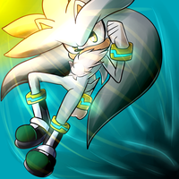 OHS: Silver the Hedgehog by KaoMaou
