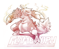 Flamehorn: Lion of the Sun by silverava