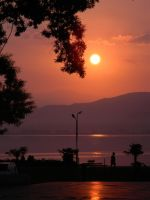 Dojran sunrise by LenaAntidote