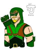 The Emerald Archer by DinomanInc