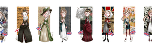 Fashion History - Fem!England by SailorX2