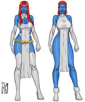 Mystique New and Variant by Narysh