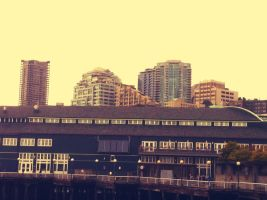 Waterfront View of Seattle by Scorpion31