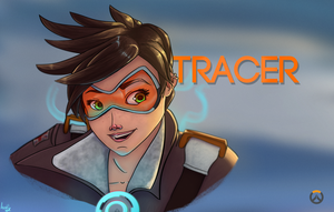 Tracer - Overwatch by Iceey23