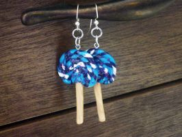 Custom Lollipop Earrings by Lassarina-Jewelry