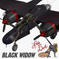 P61B Black Widow by Emigepa