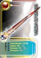 Weapon Card: Vision of Death by LogicDreams