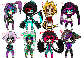 Little Adoptables! [100 Points] O P E N by TokiRawr