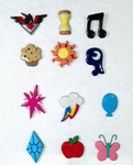 MLP Pins by ChrisWithATa