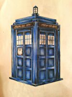 TARDIS by Dominica1