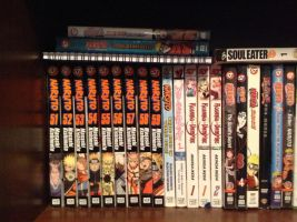 My Manga books/Anime Episodes/Movies by NINJAWERETIGER