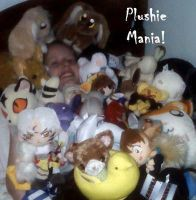 plushie mania by JillyFoo