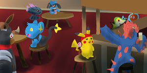 PMD Explorers Event 2 part 1 by CyndersAlmondEyes