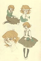 a flock of wild chihiros by Betalabenzene
