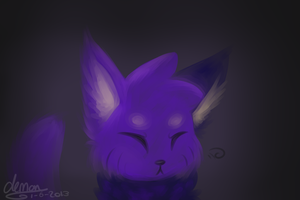 Painted Cat by BlueGriffyon