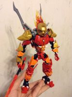 Tahu, Master of Fire pre-redesign (WIP) by MrBoltTron