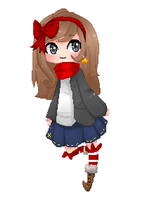 -Pixel Commission- Aime by AokiBrooks