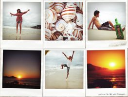 A Day in Six Polaroids by byCavalera