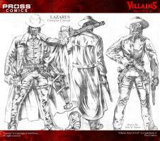 VILLAINS LAZARUS FULL BODY STUDY by bonesdeviant